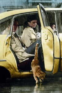 Джордж Пеппард и Одри Хепберн в фильме Завтра у Тиффани, 1961.