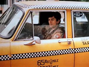Роберт Де Ниро в фильме Таксист, 1976.