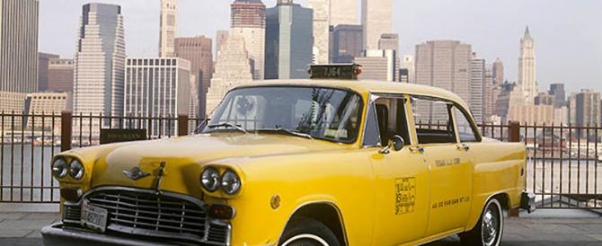 Знаменитое Нью-Йоркское желтое такси