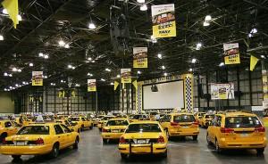 Парад такси во время премьеры одноименного фильма, 2004.