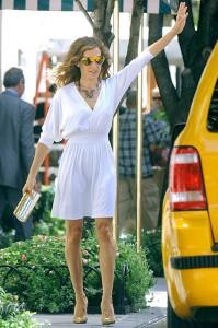 Сара Джессика Паркер в фильме Секс в большом городе 2, 2010.
