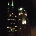 первое, что мы увидели в Чикаго.. ощущение было, что попали в ад))