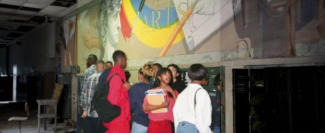 Заброшенные школы Детройта: тогда и сейчас