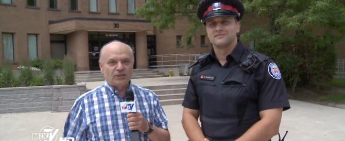 Полиция Торонто. Наши в Канаде.