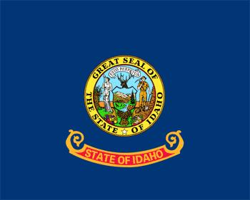 Флаг штата Айдахо