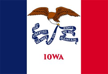 Флаг штата Айова