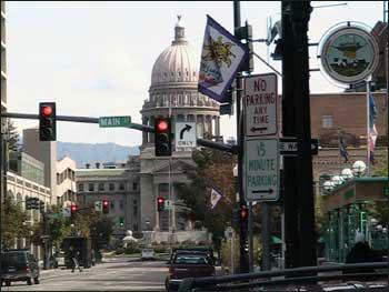 Капитолий штата Айдахо в столице штата - Бойсе