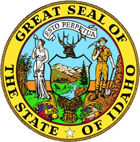 Печать штата Айдахо