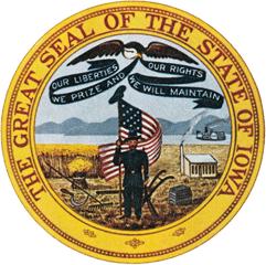 Печать штата Айова