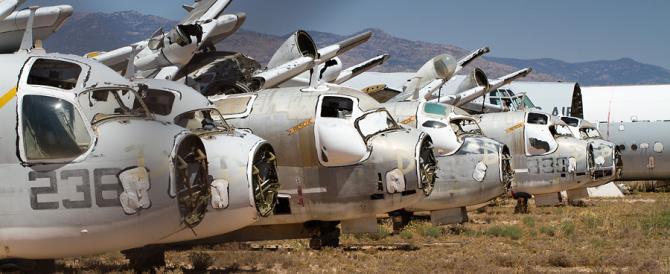 Самое большое в мире кладбище самолётов